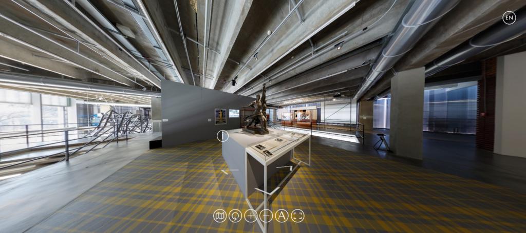 Gallery in VR