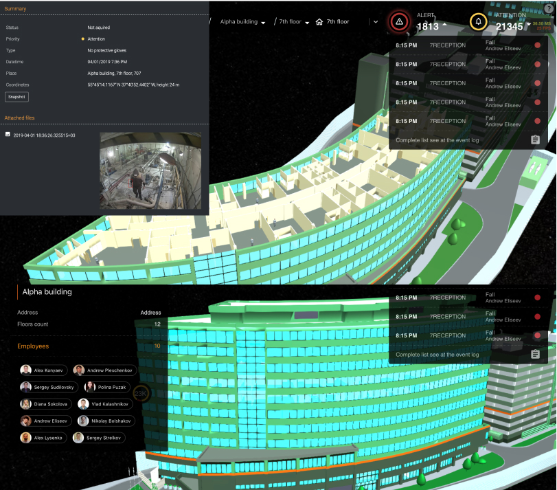 digital worker interface