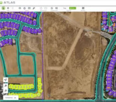 Locate, analyze, count and annotate anomalies and objects, calculate volumes and areas, track changes.